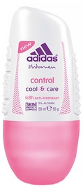 Adidas Control Cool & Care 48h Roll On 50ml Antiperspirant