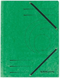 Herlitz Flap File 10843894 Green