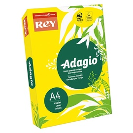 SN Rey Adagio Copy Paper A4 500 Yellow