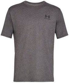 Under Armour Mens Sportstyle Left Chest SS Shirt 1326799-019 Grey S