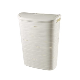 Curver Ribbon Laundry Hamper 49l White