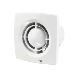 Haushalt Bathroom Exctractor Fan 100X1TH 100mm White