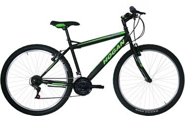 "Jalgratas Henry Hogan SMU27118B UOMO MTB Black/Green, 19.3"", 27.5"""