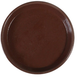Home4you SIAM Saucer 30cm Brown Teak