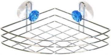 Axentia Kristall Bathroom Shelf Angular Single-Tier