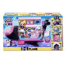 MGA L.O.L. OMG Remix 4in1 Plane 571339