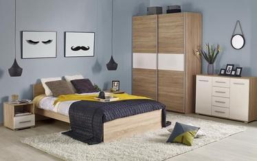 Halmar Lima Bed 90x200cm Sonoma Oak
