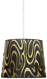 Candellux Tiger 60W E27 Hanging Ceiling Lamp Black /Gold