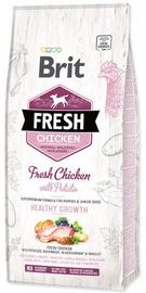 Brit Puppy Fresh Chicken With Potato Healthy Growth 12kg