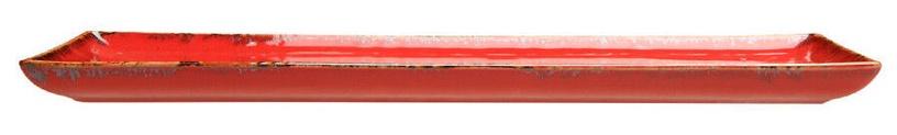 Porland Seasons Serving Plate 16.1x35.3cm Red