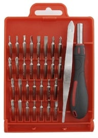 Gembird Screwdriver with Precision Bit Set 32pcs