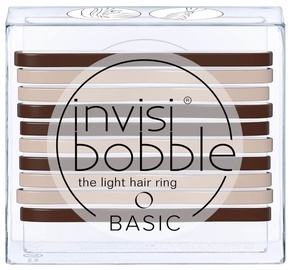 Invisibobble Basic Light Hair Rings 10pcs Mocca And Cream