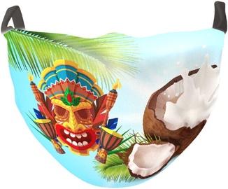 TakeMe Antibacterial 2-Layer Washable Slim Fit Face Mask Coco Banga