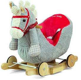 Milly Mally Polly Rocking Horse Gray Red