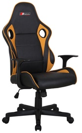 Signal Meble Office Chair Carrera Black/Yellow