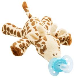 Philips Avents Ultra Soft Pacifier Snuggle Giraffe 0-6m SCF 348/11