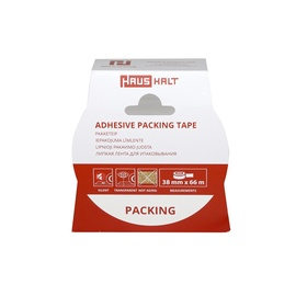 HausHalt Adhesive Packing Tape 38mm 66m