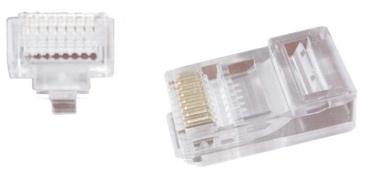Gembird Modular Network Plug 8P8C RJ-45 x 50