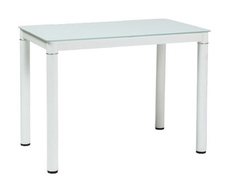 Обеденный стол Signal Meble Galant White, 1100x700x750 мм