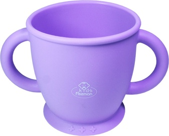 Fissman Kids Cup With 2 Handles 280ml Purple 9593