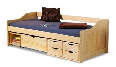 Детская кровать Halmar Maxima Pine, 209x96 см