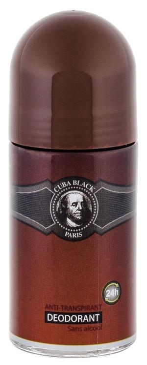 Cuba Black Roll On Deodorant 50ml