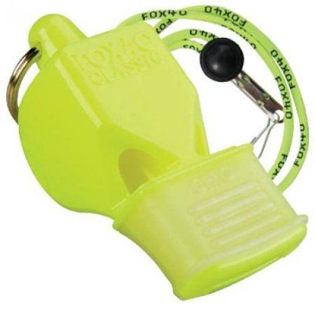 Fox 40 Safety Classic CMG Whistle with Lanyard 9603-1308