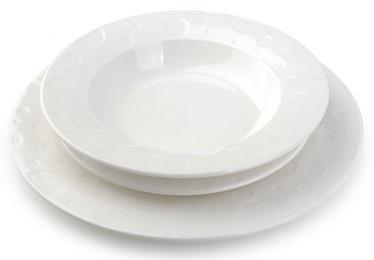 Mondex Ines Dinner Set White 18pcs