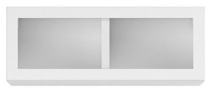 Black Red White Modai Wall Shelf White