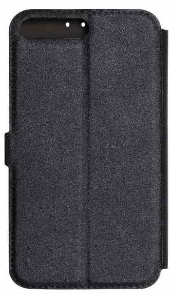 Mocco Shine Book Case For Apple iPhone XS Black