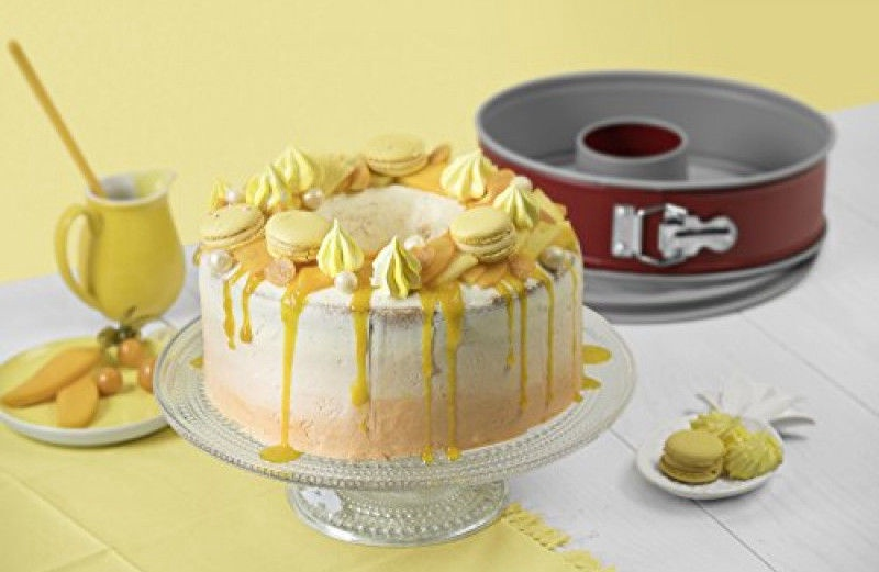 Kaiser Classic Plus Cake And Pie Form D28cm Red Silver