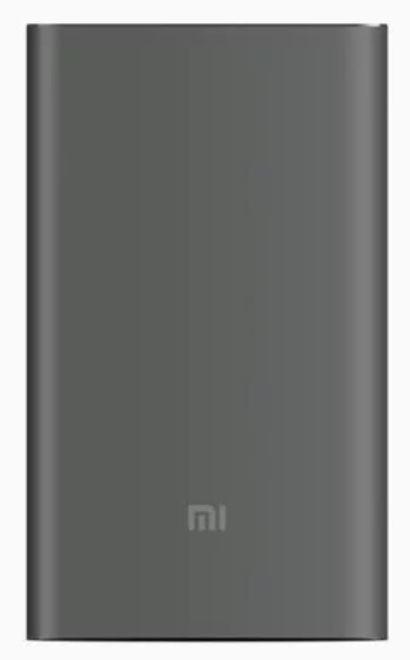 Väline aku Xiaomi Mi Pro Grey, 10000 mAh