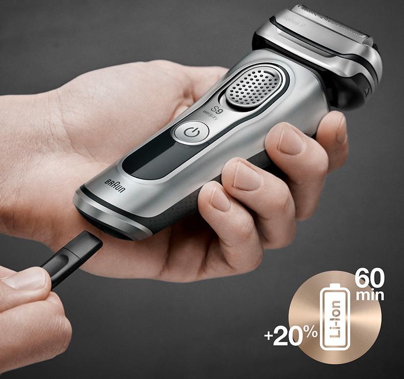 Braun Shaver Series 9 9390cc Silver