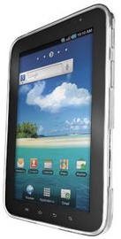"""Trust Silicone Skin for Galaxy Tab 7"""" Transparent White"""