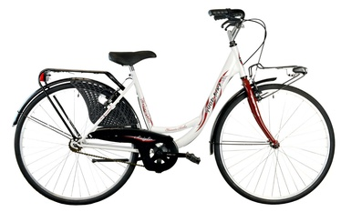 """Bottari Good Bike Siviglia 26"""" White"""