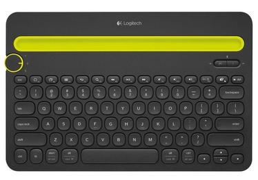 Logitech K480 Bluetooth Multi-Device Keyboard EN/RUS Black
