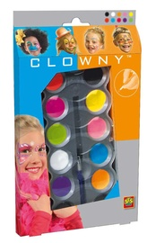SES Creative Clowny Face Paint Set 10 Colors
