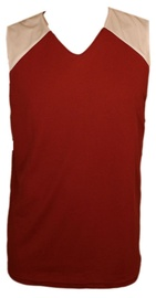 Bars Mens Basketball Shirt Red/White 181 L