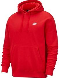 Nike Sportswear Club Fleece Pullover Hoodie BV2654 657 Red L