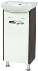 Sanservis Sirius-40 Cabinet with Basin Arteco-40 Vintage 40x84x29cm
