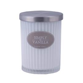 Ароматическая свеча Diana Candle Vanilla White, 7.5 x 9.5 см, 35 h