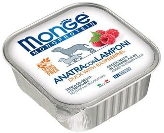 Monge Monoproteinic Fruits Pate Duck/Raspberries 150g
