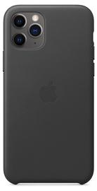 Apple Leather Back Case For Apple iPhone 11 Pro Black