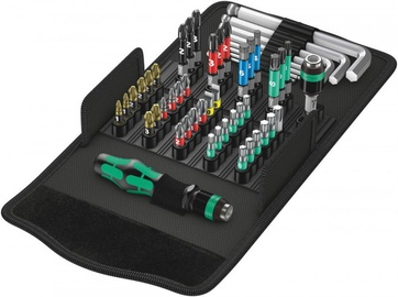 Wera Screwdriver Bits Set Kompakt 100