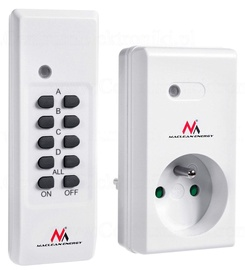 Maclean Wireless Remote Control Socket Kit + Remote Batteries