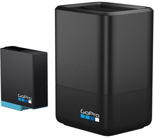 GoPro Dual Battery Charger + Battery Black