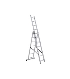 HausHalt BL-E307 Double-Sided 7-Steps Ladders