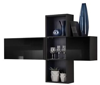 ASM Blox SB I Hanging Cabinet Set Black