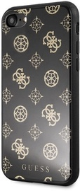 Guess Peony G Double Layer Glitter Back case For Apple iPhone 7/8 Black