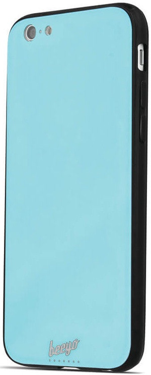Beeyo Glass Back Case For Samsung Galaxy S9 Blue